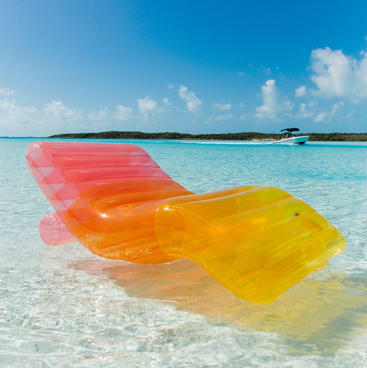 This Ombr 233 Inflatable Lounger Is The Prettiest Pool Float