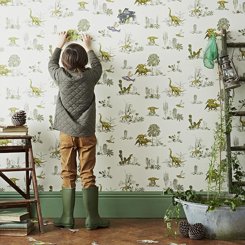 Prepare to Be Obsessed with Magnetic Wallpaper