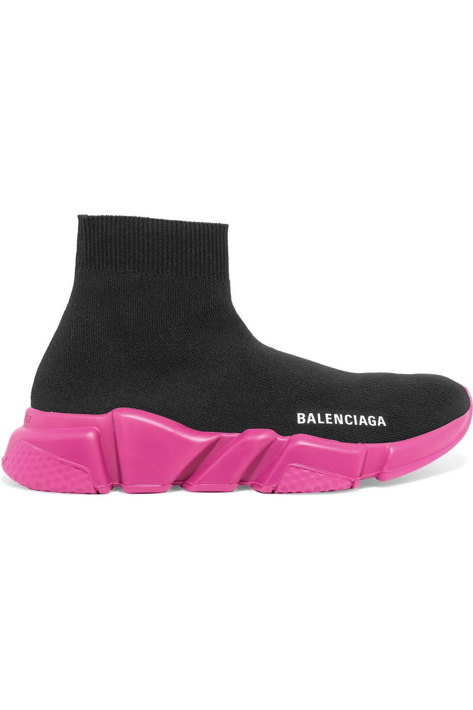 Speed Stretch-Knit High-Top Sneakers Balenciaga net-a-porter.com $770.00 SHOP NOW A bold take on comfort, Balenciaga's stretch-knit high-top sneakers have hit cult status among the fashion-insider set.