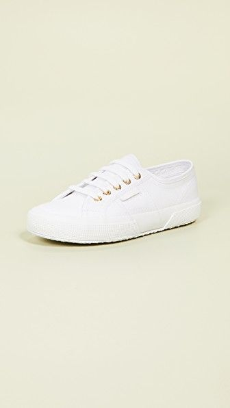 2750 Cotu Classic Sneakers Superga shopbop.com $65.00 SHOP NOW For canvas sneakers, it doesn't get better than classic Superga's — try this new-season style with gold-tone eyelets.