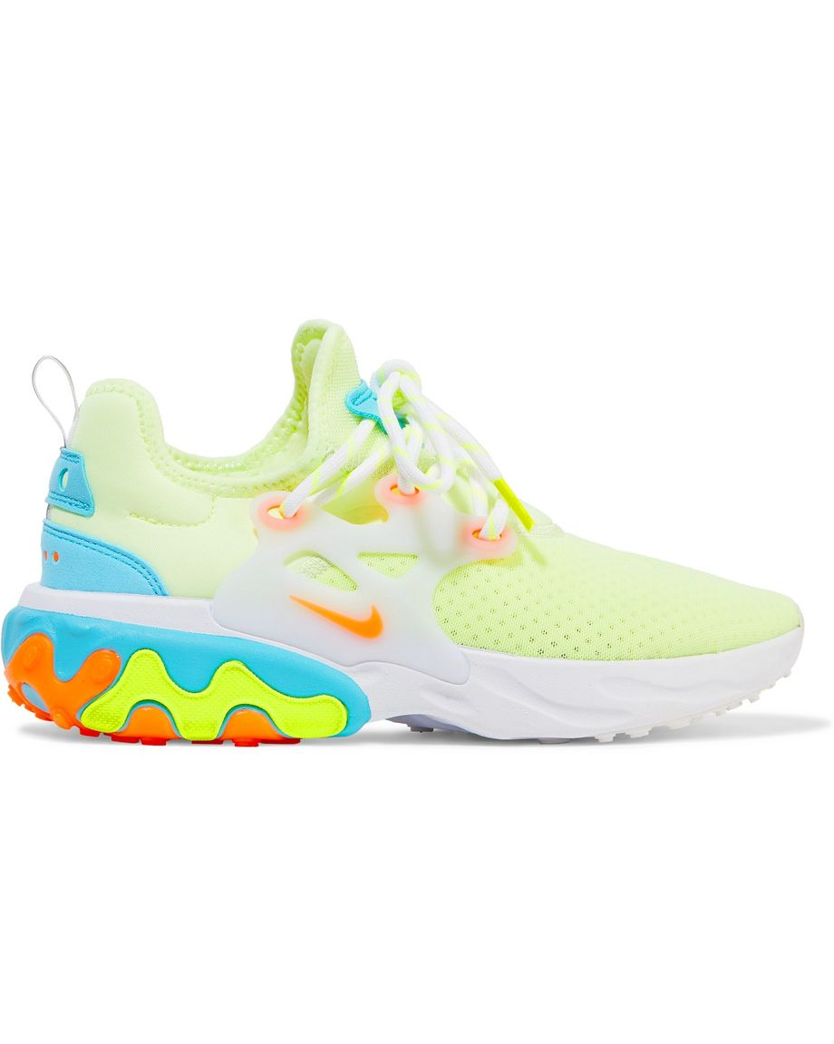 React Presto Nike net-a-porter.com $120.00 SHOP NOW It doesn't get cooler or comfier than neon Prestos.