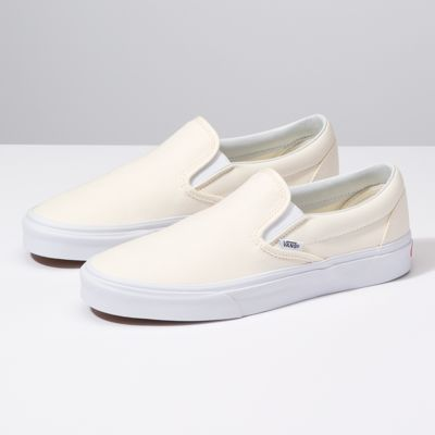 Slip-On Vans vans.com $50.00 SHOP NOW Channel a Cali vibe in these eggshell colored slip-on Vans — a favorite for everyday comfort.