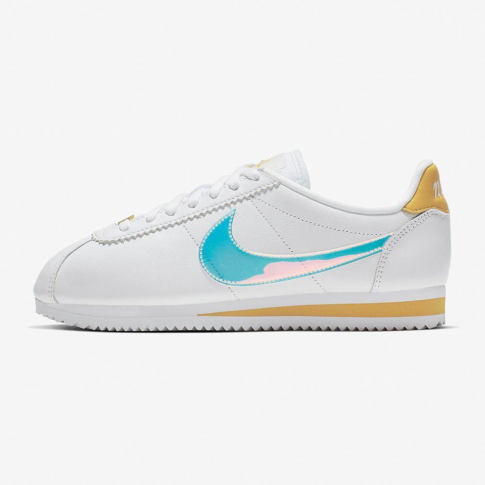 Women's Nike Iridescent Classic Cortez Sneakers