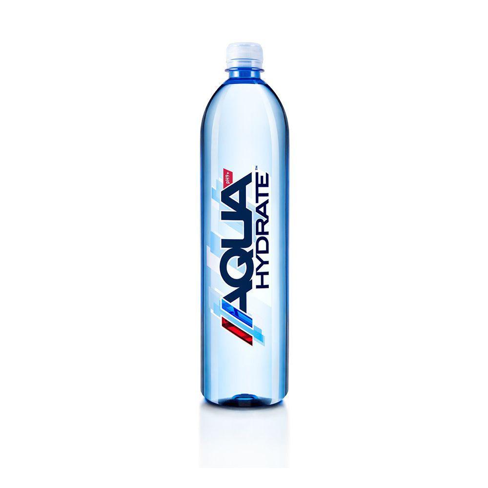 AQUAhydrate Electrolyte Enhanced Alkaline Water (12-Pack)