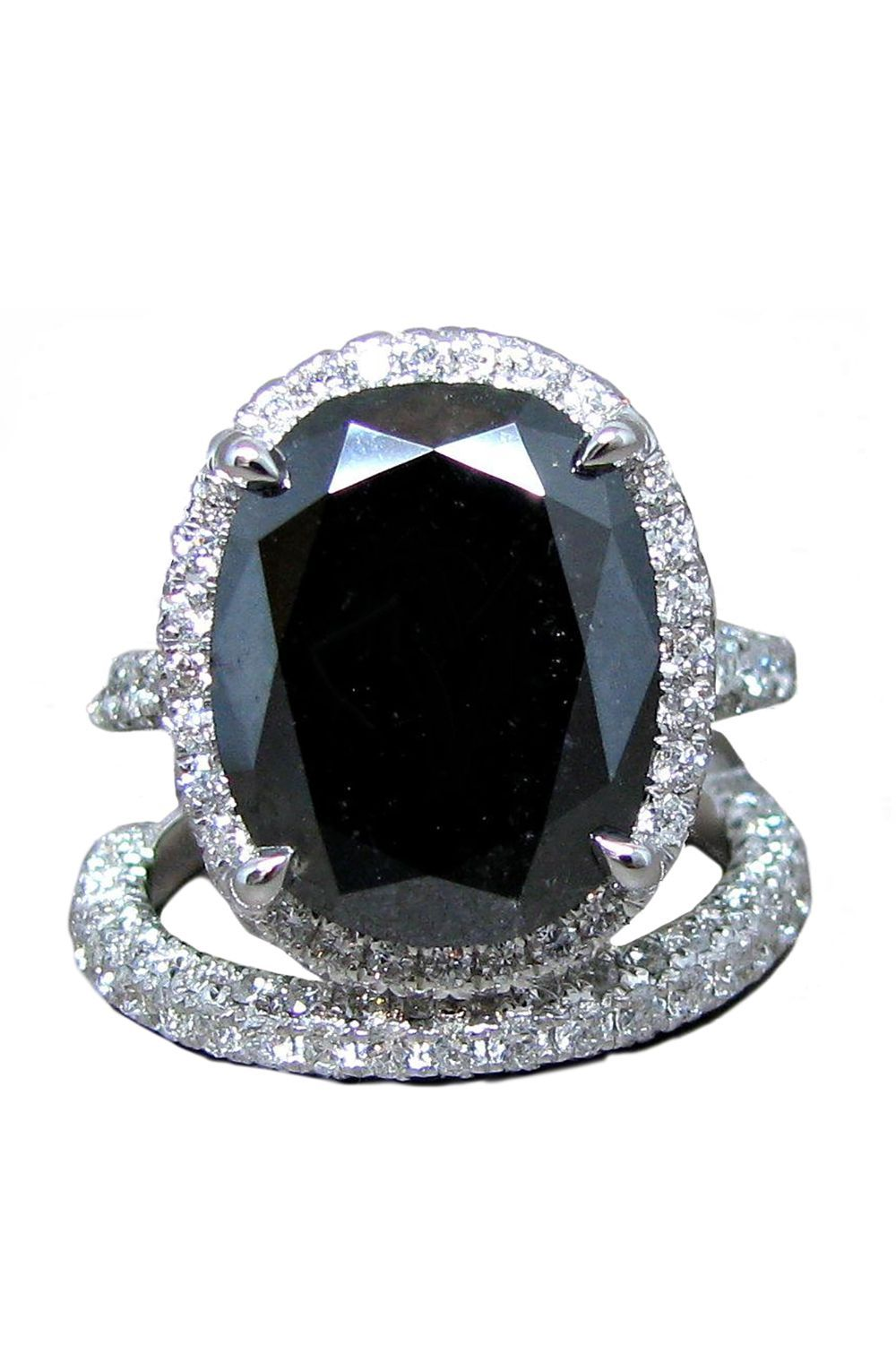 40c2ebd4c7b Black Diamond Engagement Ring