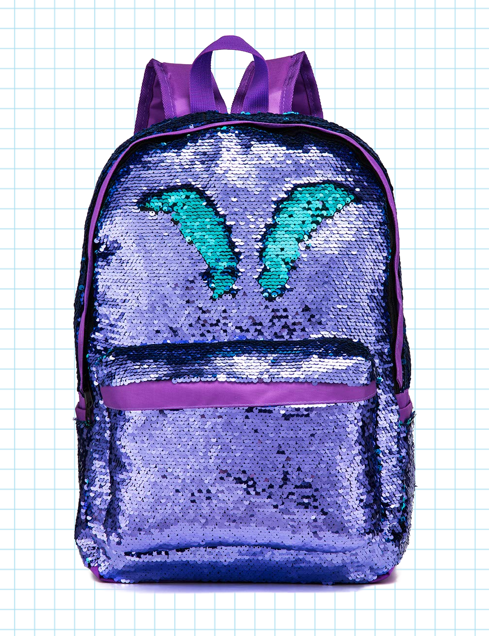 24f1642cd6ef SIWA MARY Reversible Sequins Backpack