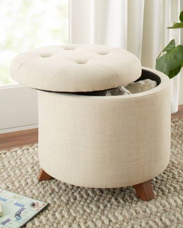 Fine 15 Best Ottoman Coffee Tables Leather Round And Tufted Ncnpc Chair Design For Home Ncnpcorg