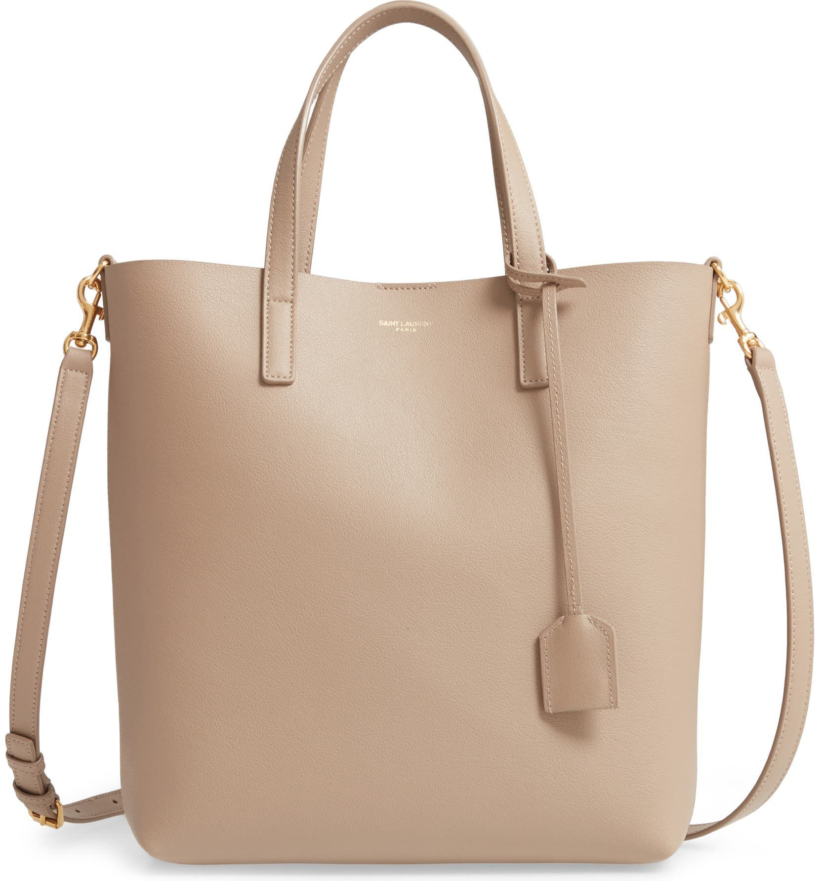 Toy Ping Leather Tote