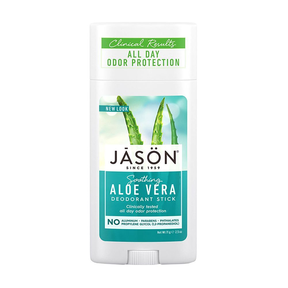 Jason Soothing Aloe Vera Aluminum and Paraben Free Deodorant Stick