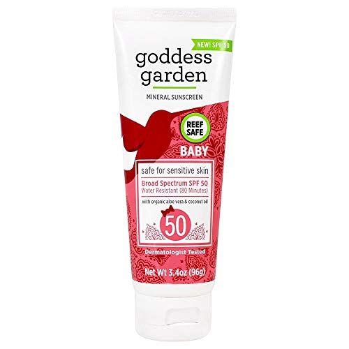 Goddess Garden Baby Mineral Sunscreen Lotion, SPF 50