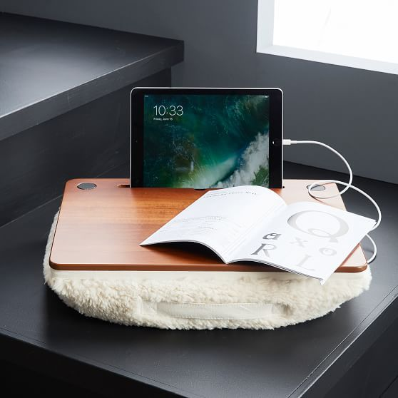 Charmant PBteen Bluetooth Speaker Lap Desk