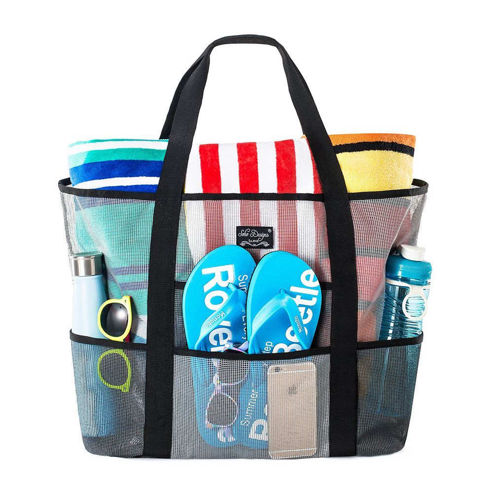Soho Designs Mesh Beach Bag