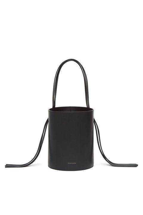 58ca99773f52 Courtesy. Black Fringe Bucket Bag. Mansur Gavriel mansurgavriel.com