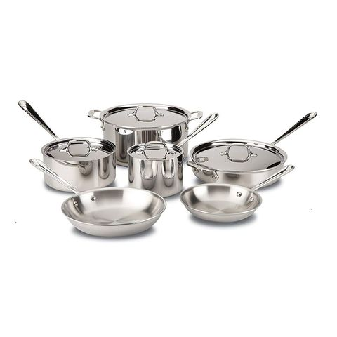 6 Best Stainless Steel Cookware Sets To Buy In 2019