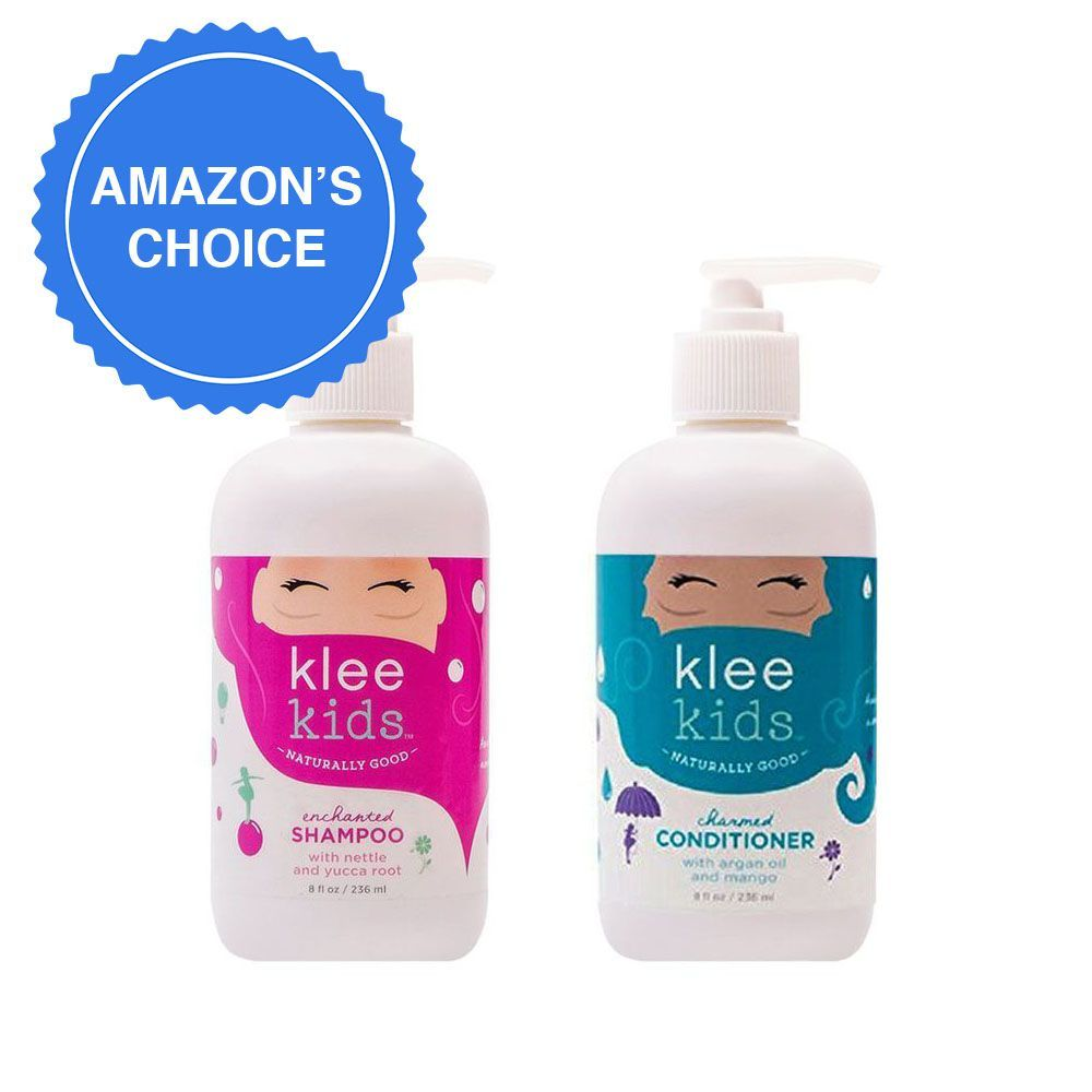 Luna Star Naturals Klee Kids Shampoo and Conditioner Set