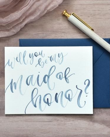 20 Maid of Honor Proposal Ideas - Best Bridesmaid Proposal Ideas