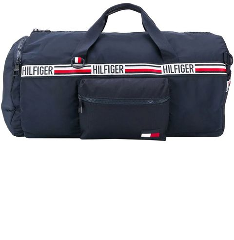 e71a382e7 Tommy Hilfiger Holdall. farfetch.com. $165.22. SHOP. For a beach weekend,  there's nothing better than a classic, slightly nautical Tommy Hilfiger bag.