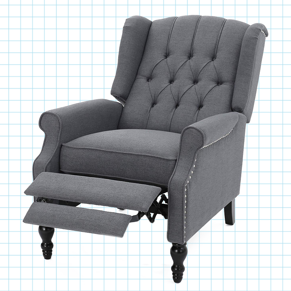 Excellent Elizabeth Tufted Accent Recliner Chair Short Links Chair Design For Home Short Linksinfo