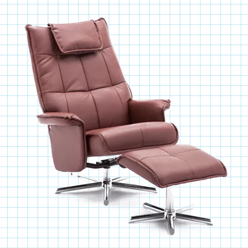 Awesome Manual Swivel Recliner With Ottoman Pdpeps Interior Chair Design Pdpepsorg