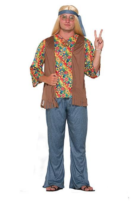 Mens Flower Power Costume