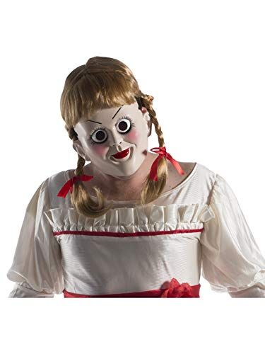 Annabelle Creation Mask with Wig