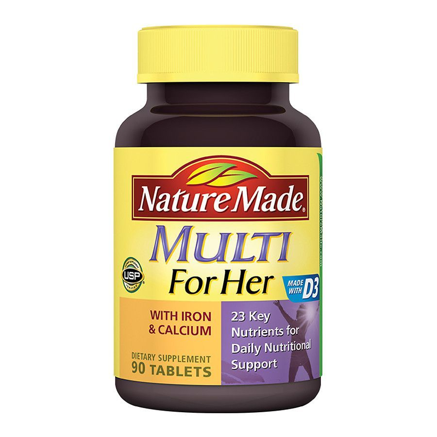 Multivitamin For Her With Iron Calcium