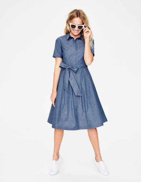 Best denim dresses for summer - Cool and chic denim dresses to wear now