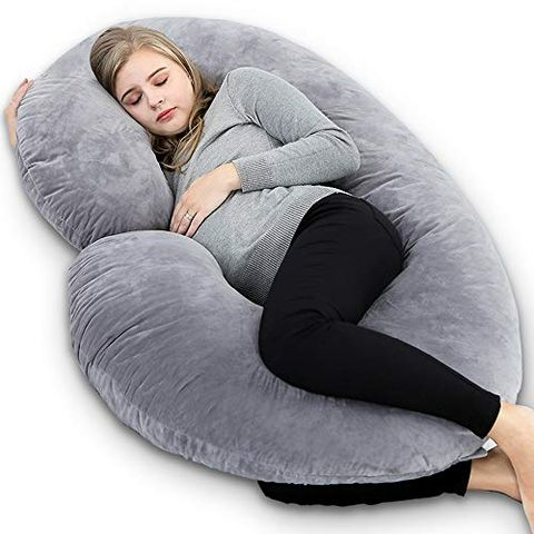 Full Body Pregnancy Pillow.11 Pregnancy Body Pillows Comfy Body Pillows For Moms To Be