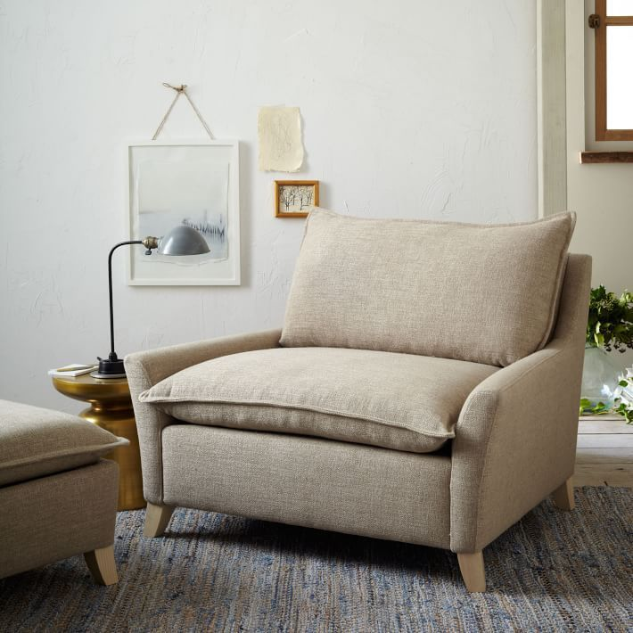 Bliss Down-Filled Chair-and-a-Half