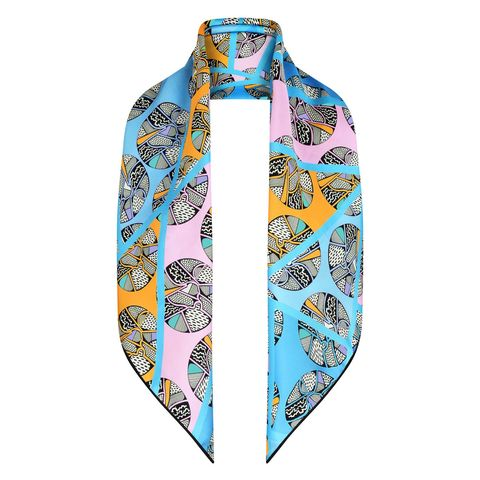 Summer scarves - silk and cotton scarves to wear when the weather is warm