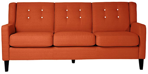 32 Best Orange Sofas - Orange Couches and Orange Leather Sofas