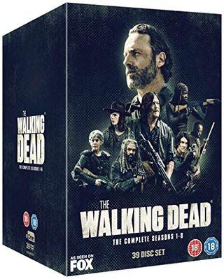 The Walking Dead Season 1-8 boxset [DVD]