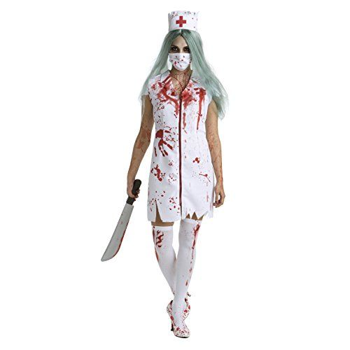 Halloween Costumes For Girls Scary.Zombie Nurse