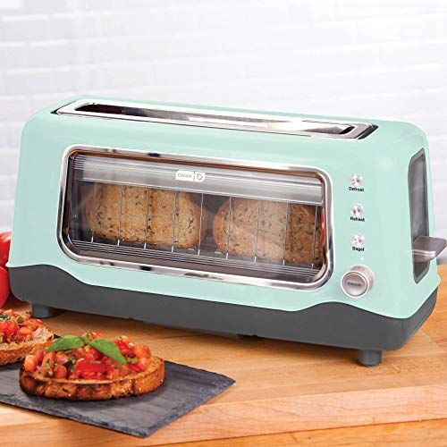 See Through Glass Toasters Peek Into Your Toaster With Glass Windows