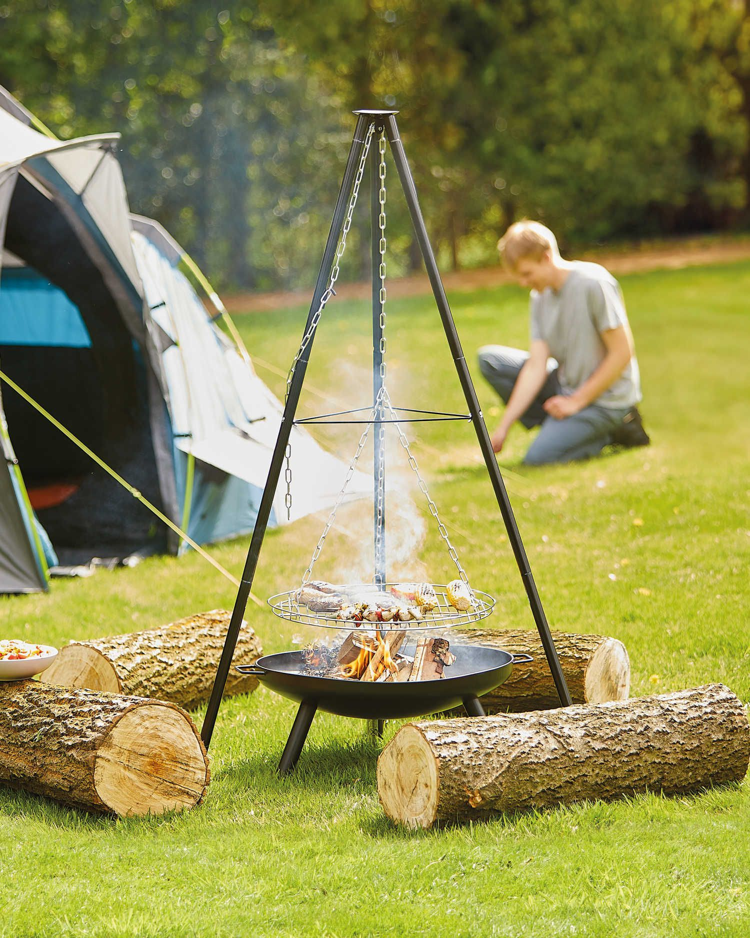 Camping Fire Pit >> 5 Aldi Special Buys For Your Garden This Summer