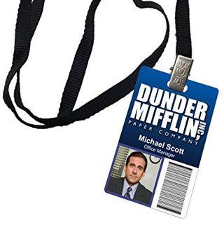 Michael Scott ID Badge
