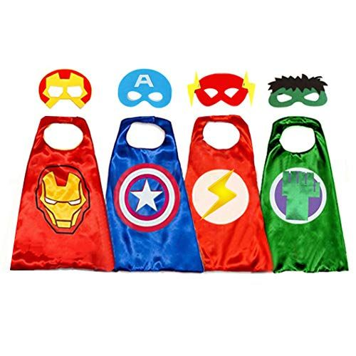 40 Best Superhero Costumes Diy Superhero Halloween Costume Ideas She started out as ms. superhero capes for kids