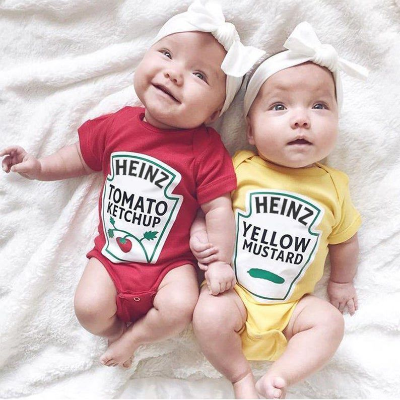 Ketchup and Mustard Halloween Costume