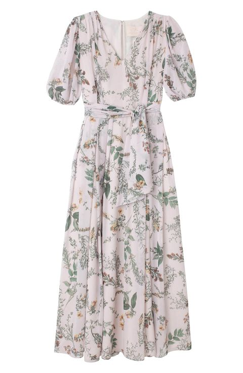 d6a9dfda587b Phoebe Floral Puff Sleeve Chiffon Maxi Dress. GAL MEETS GLAM COLLECTION  nordstrom.com