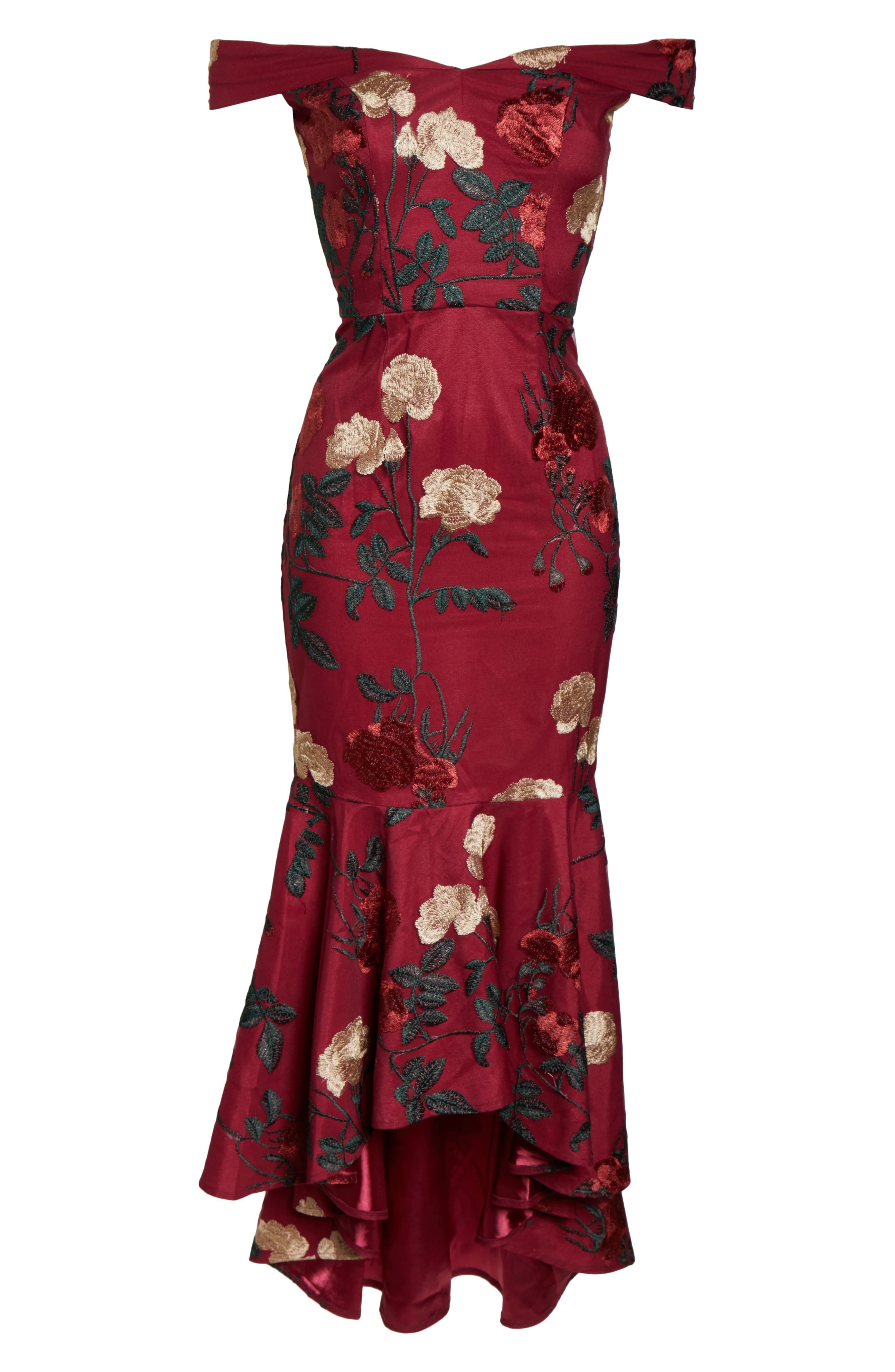 5caf979069 22 Elegant Fall Wedding Guest Dresses 2019