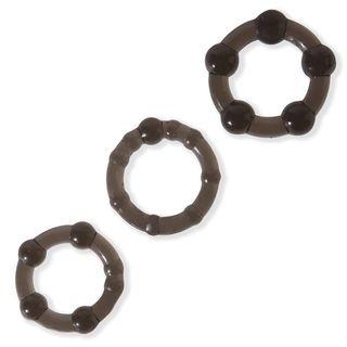 BASICS Triple Cock Ring Set (3 Pack)