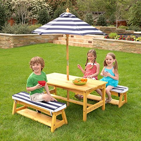 Kidkraft Outdoor Furniture For Toddlers, Childrens Outdoor Furniture With Umbrella