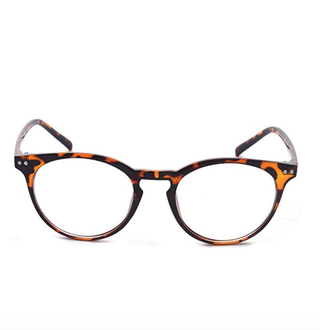 Round Clear Lens Glasses