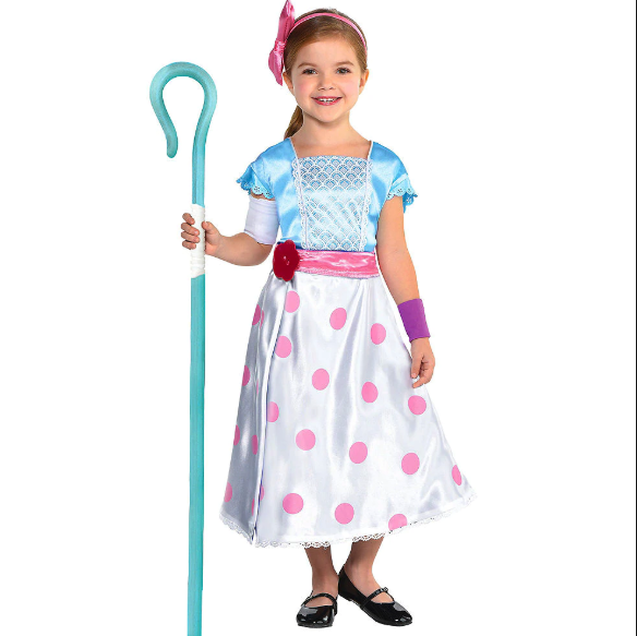 Halloween Outfits For Kids.Bo Peep
