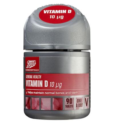 Boots Vitamin D - 90 tablets