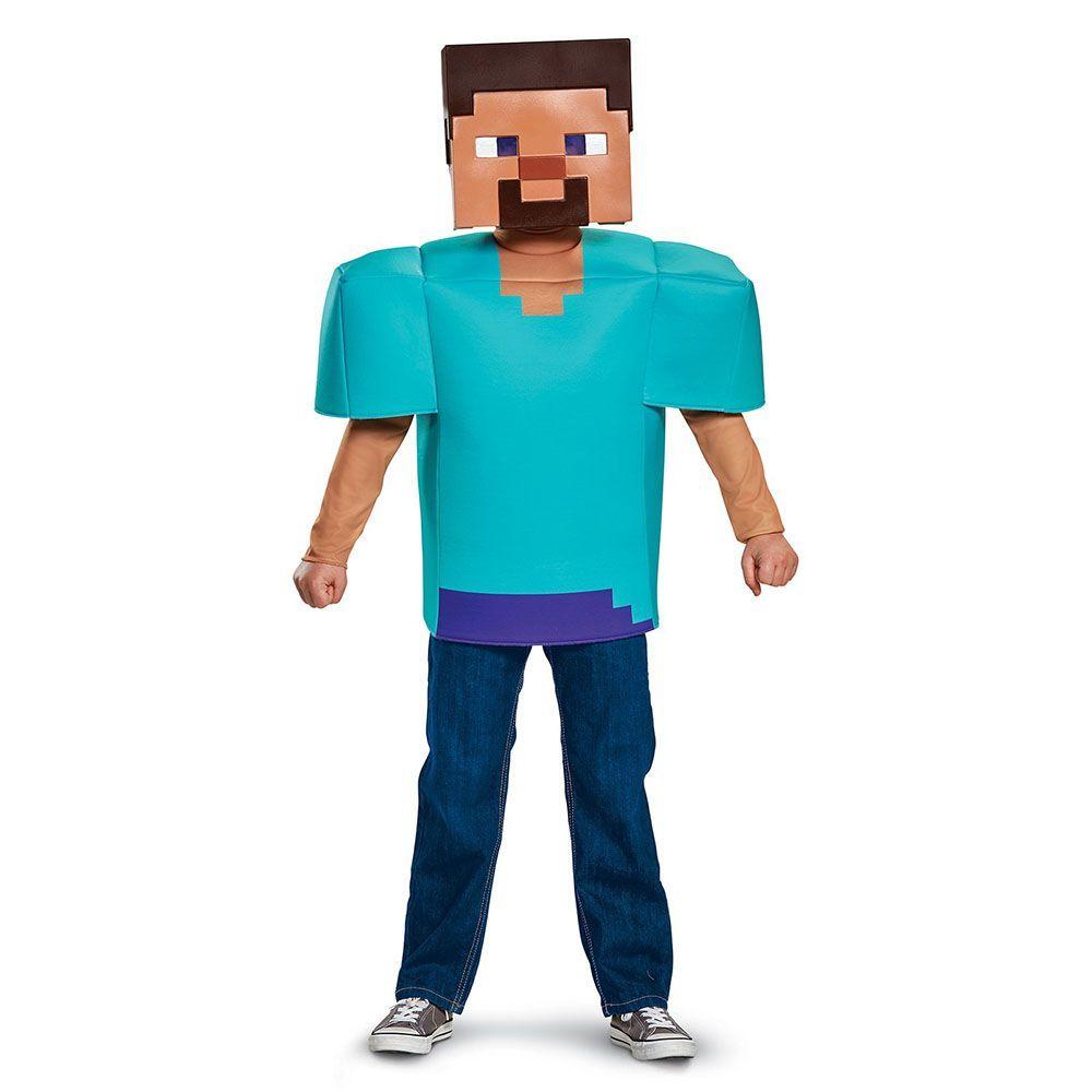 Minecraft Steve Classic Child Costume
