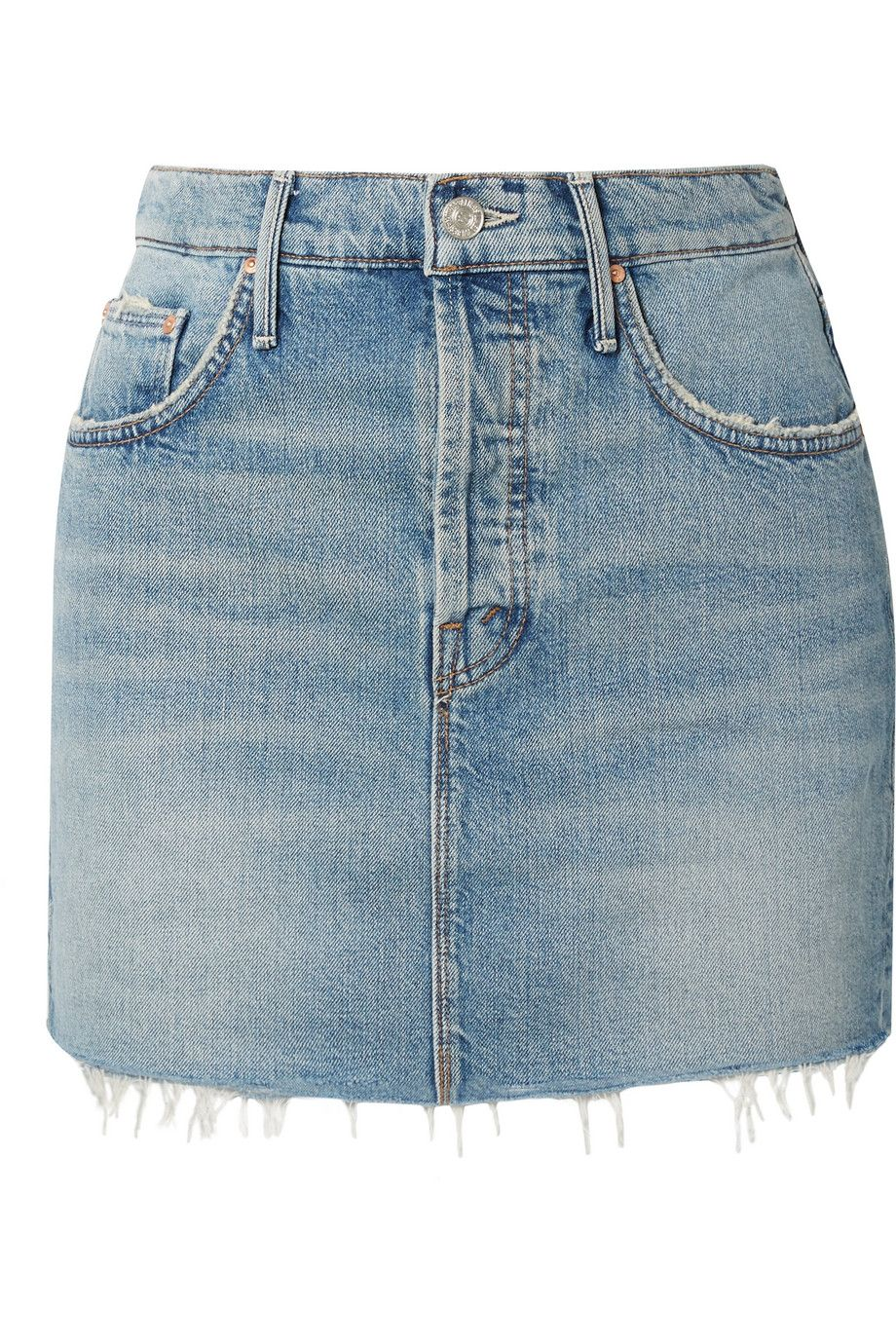 6866373d5c02 Jean Skirt Outfits - How to Wear a Jean Denim Mini Skirt