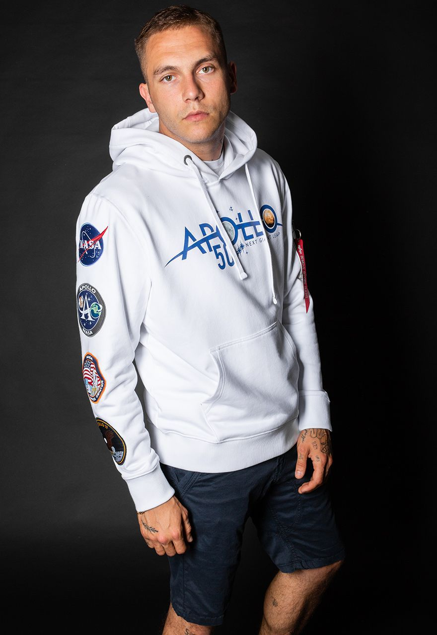 ANCIENT ALIEN AIRCRAFT//AIRPLANE appliqued HOODED//HOODIE LONG SLEEVE T// SHIRT