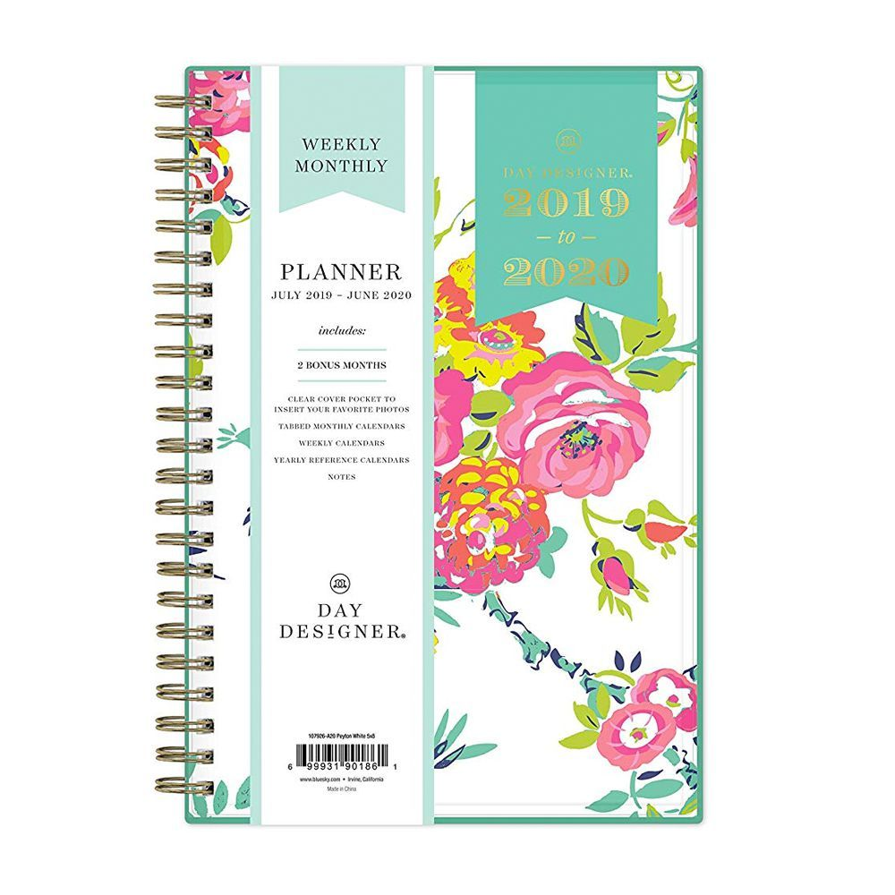 picture regarding Stylish Planners and Organizers called 13 Least complicated Every day Planners for 2019 - Adorable Everyday Planners
