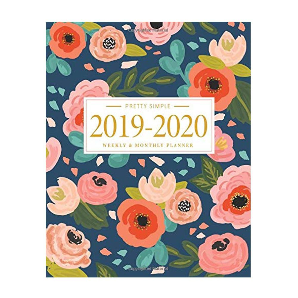 photograph regarding Stylish Planners and Organizers referred to as 2019 - 2020 Planner